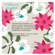 textförslag till födelsedagskort Inbjudningskort Julfest / Glögg / Glöggfest / Luciafirande  textförslag till födelsedagskort