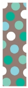 Shopping list dotty - aqua mix