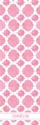 Shopping list quatrefoil - pink