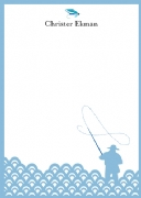 Fly fishing - blue